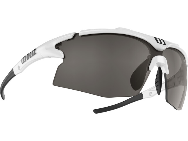 Bliz Tempo M12 Smallface Glasses white/smoke with silver mirror